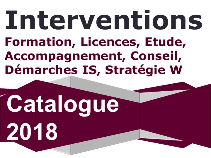 Catalogue des interventions Odissée 2018